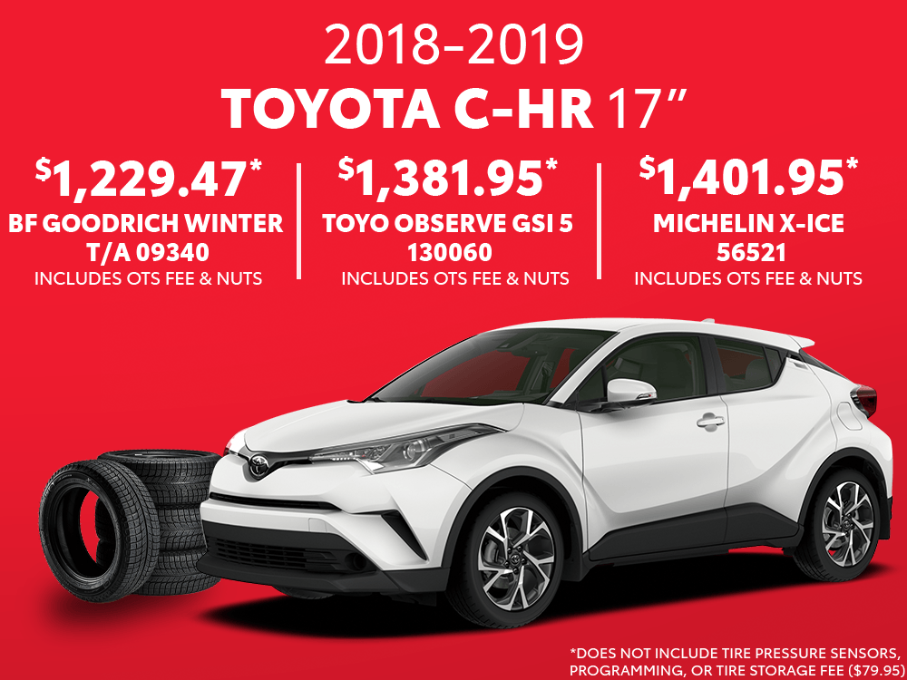 C-HR 17″ Winter Tire Special