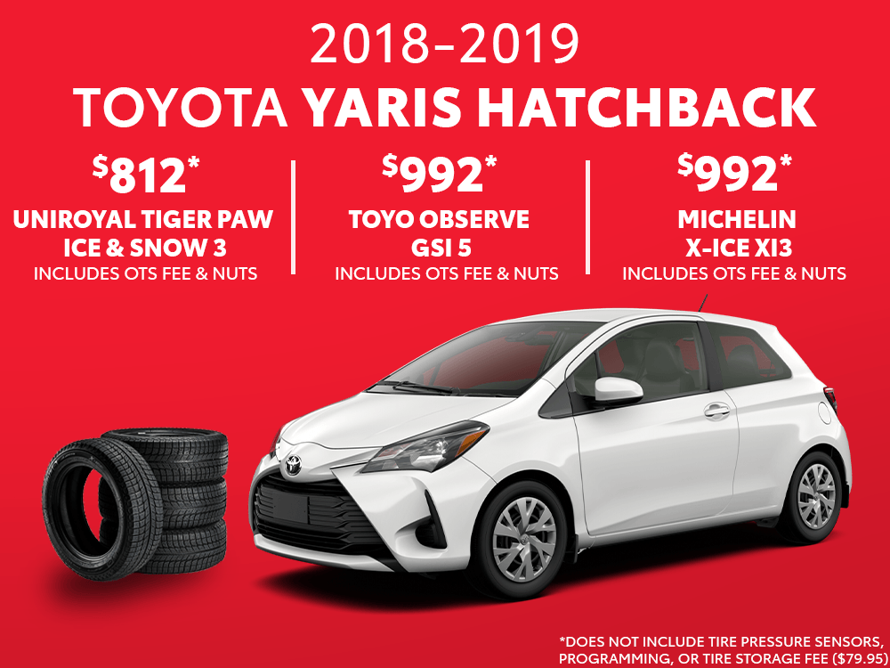 Yaris Hatchback Winter Tire Special