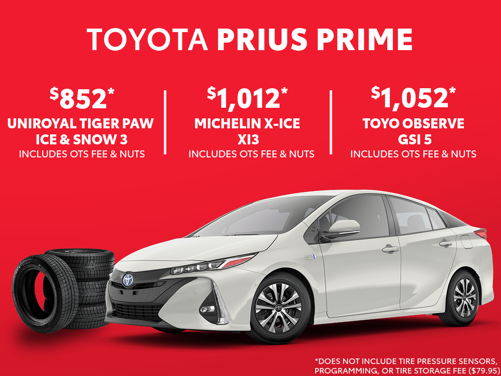 Prius Prime Winter Tire Special