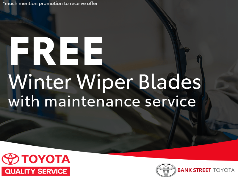 Free Winter Wiper Blades